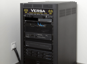 WS Chamber of Commerce Audio Visual Control Cabinet